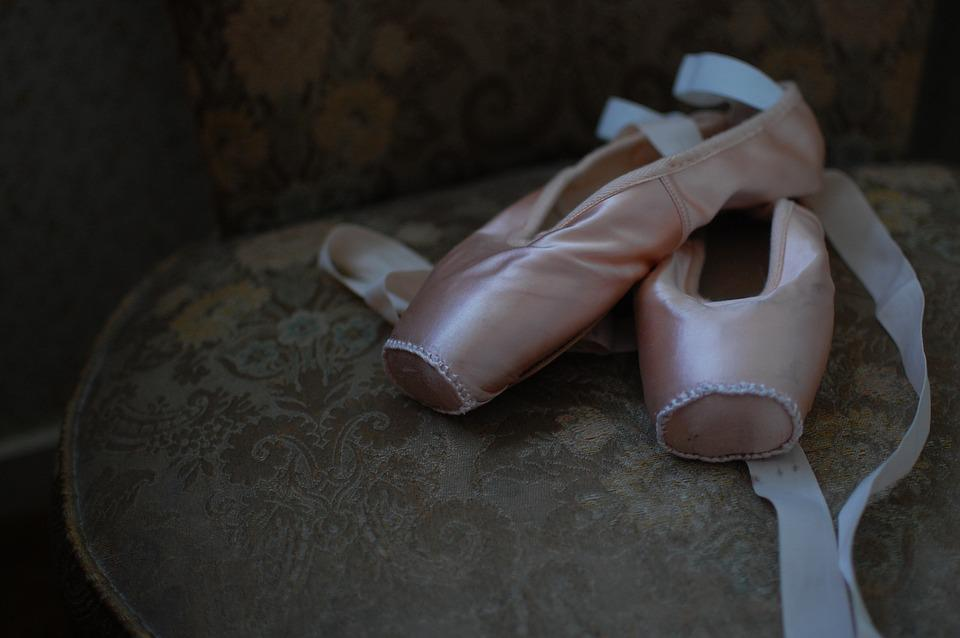 Ballet Shoes, Pointe Shoes, Ballet, Dance, Ballerina