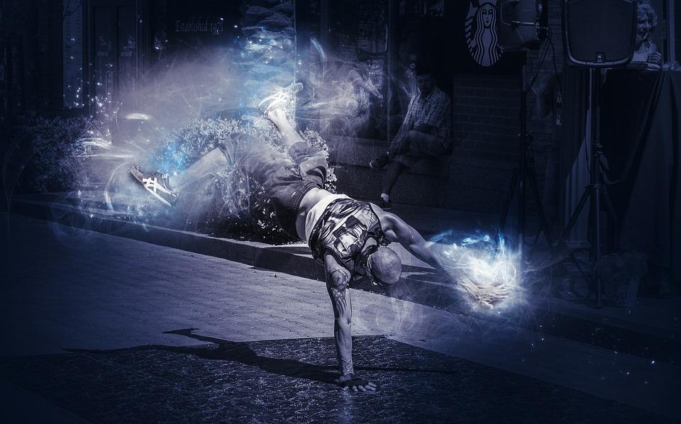 Break Dance, Performer, Action, Motion, Dancer