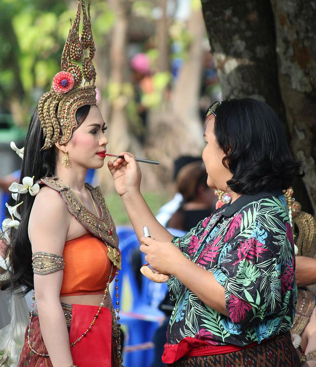 Make-up, Dancer, Performer, Hair, Girl, Woman, Pose