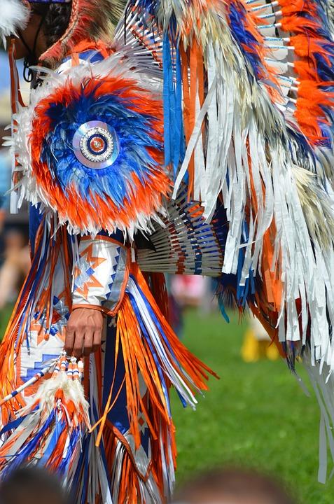 Regalia, Indegenous, Indian, Dancer, Costume