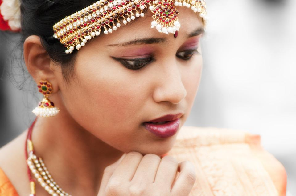 Indian, Woman, Dancer, Bollywood, Girl, Jellery