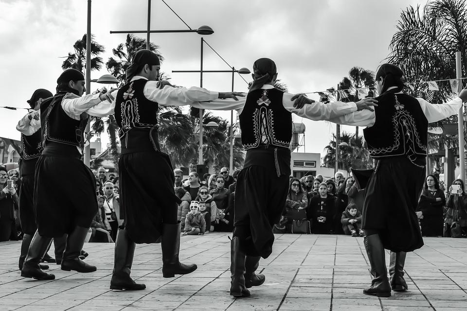 Dancers, Boys, Motion, Traditional, Folkloric, Dance