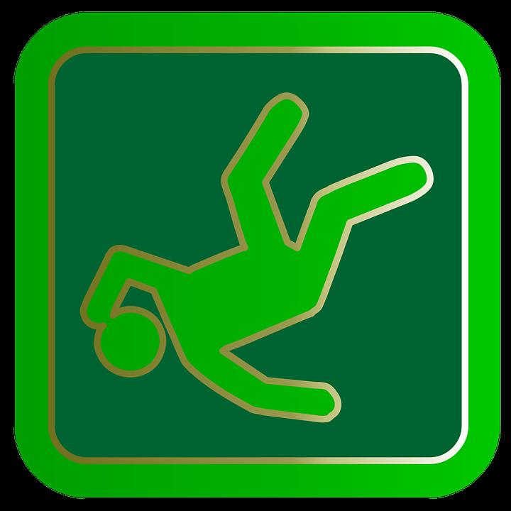 Fall, Slip And Fall, Danger, Slippery, Accident