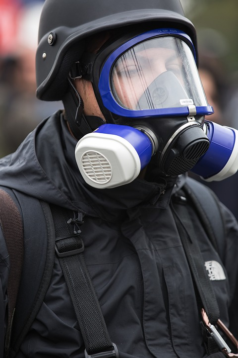 Mask, Gas, Event, Reporter, Helmets, Danger, Concepts