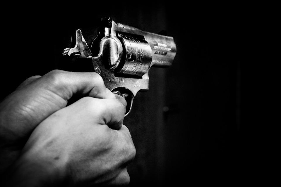 Gun, Hands, Black, Weapon, Man, Crime, Pistol, Danger