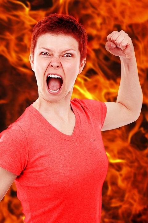 Anger, Angry, Bad, Burn, Dangerous, Emotion, Evil, Face