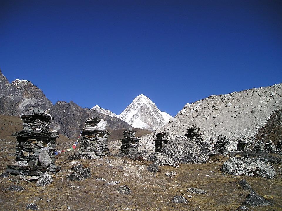 Nepal, Pumori, Everest, Monuments, Dankmal, Himalayas