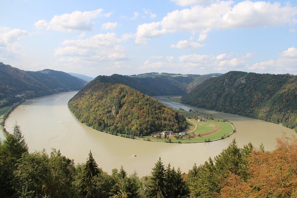 Danube Loop, More, Danube, Schlögen