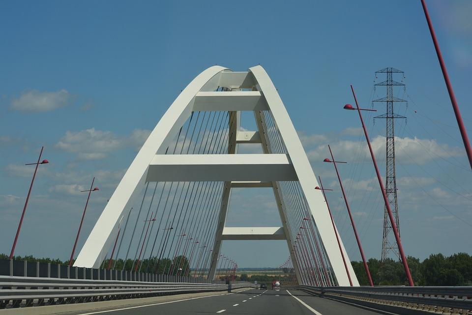 Pentele, Bridge, Danube, Danube Bridge, Transition
