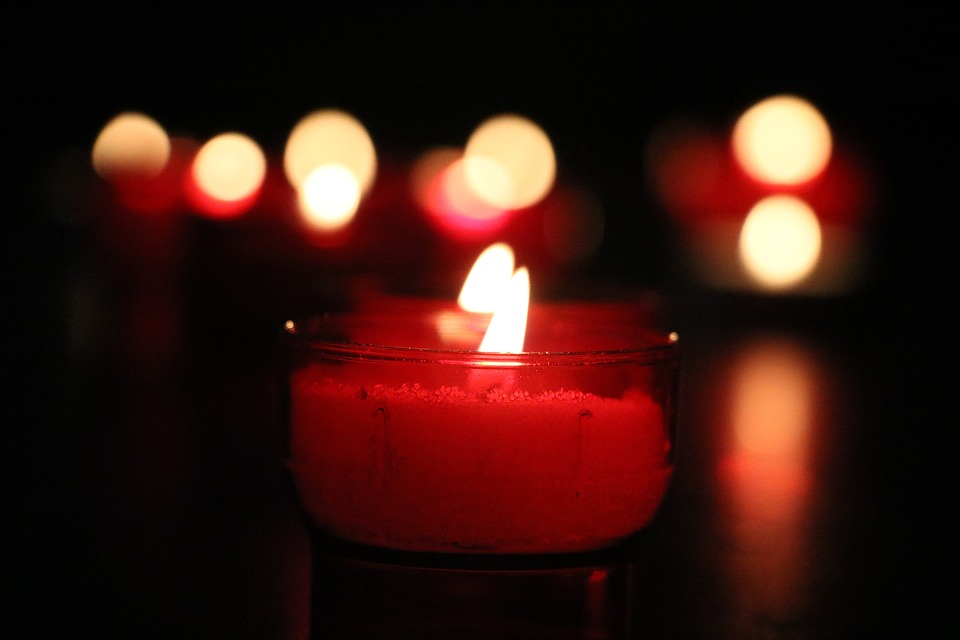 Candle, Light, Church, Flame, Dark, Love, Advent