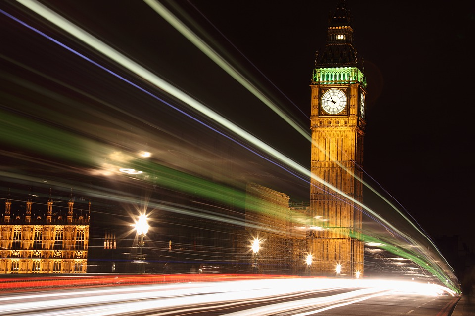 Architecture, Big, Ben, British, Bus, City, Clock, Dark