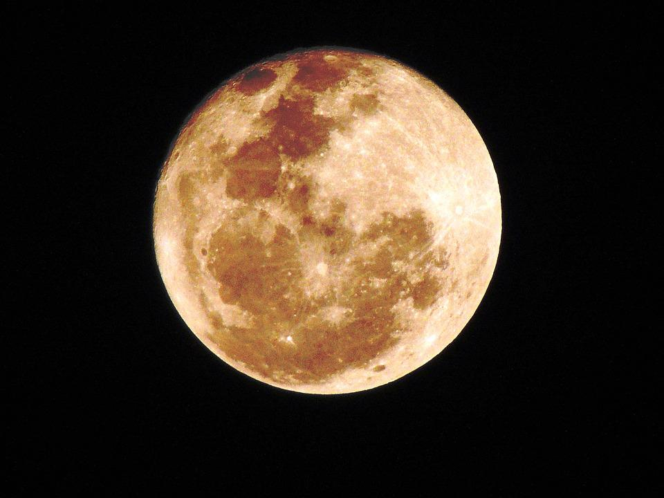 Free photo Dark Astrology Full Moon Moon Scene Full Night - Max Pixel