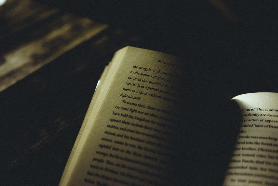 Book, Knowledge, Dark