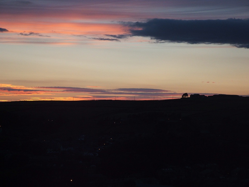 Sunset, Dark, Sky, Clouds, Dark Sky, Dusk