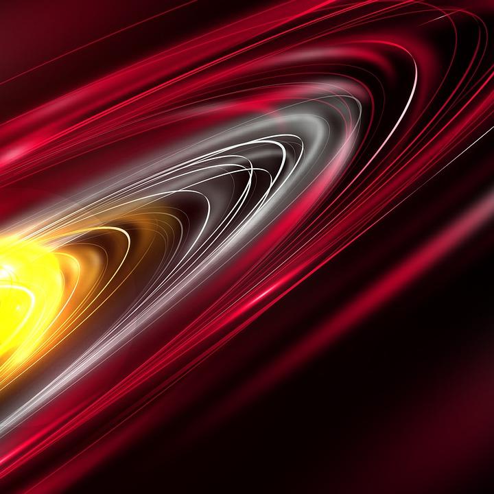 Circle, Background, Red, Dark, Bokeh, Pattern, Hole