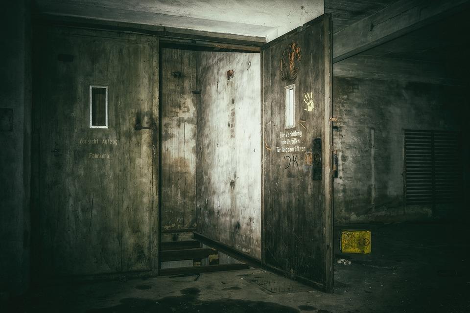 Lost Places, Keller, Elevator, Underground, Dark