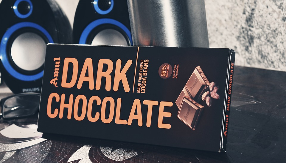 Amul, Dark, Treat, Chocolate, Speakers, Desk