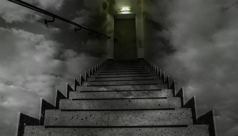 Free photo Dark Web Ghost Deep Web Stairs Horror Code Dark - Max Pixel