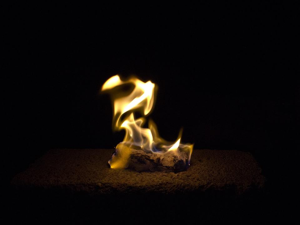 Fire, Darkness, Ablaze