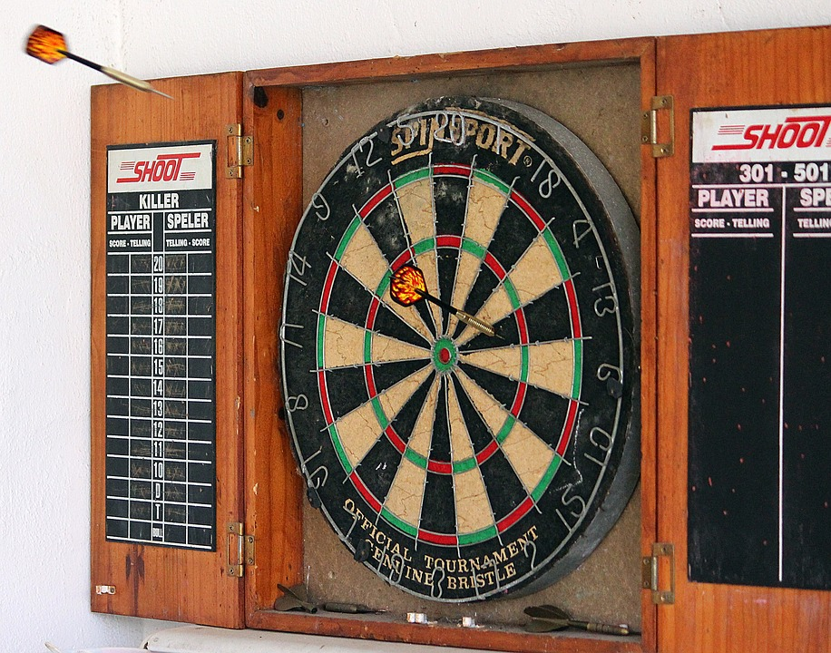 Dart, Arrows, Target, Play, Bull's Eye, Without Fail
