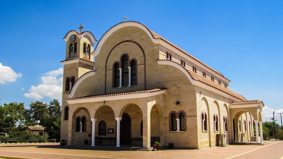 Cyprus, Dasaki Achnas, Church, Orthodox, Architecture
