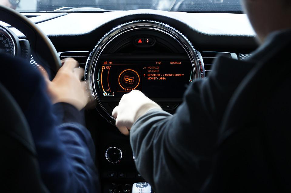 Automobile, Dashboard, Interface, Drive, Vehicle, Hand