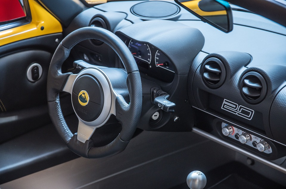Lotus, Elise, Auto, Sports Car, Dashboard, Cockpit