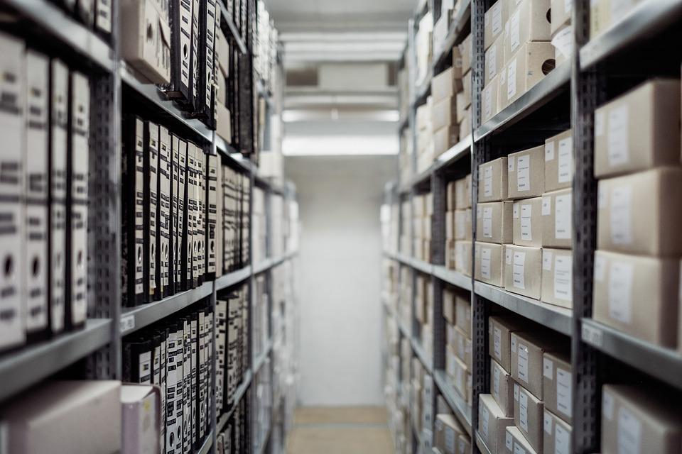 Archive, Bookcase, Boxes, Business, Data