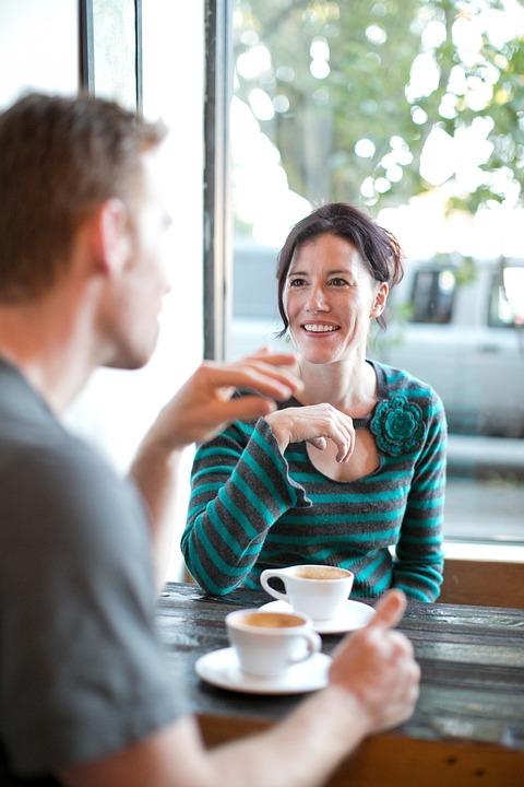 Woman, Date, Coffee, Love, Girl, Coffee Shop, Day