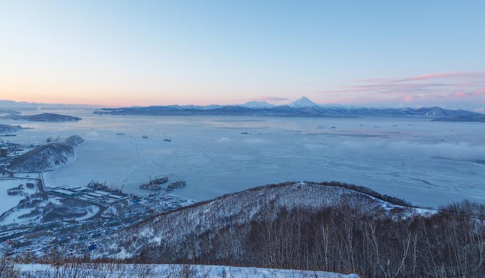 Kamchatka, Dawn, Palette, Colors, Sky, View, Beauty