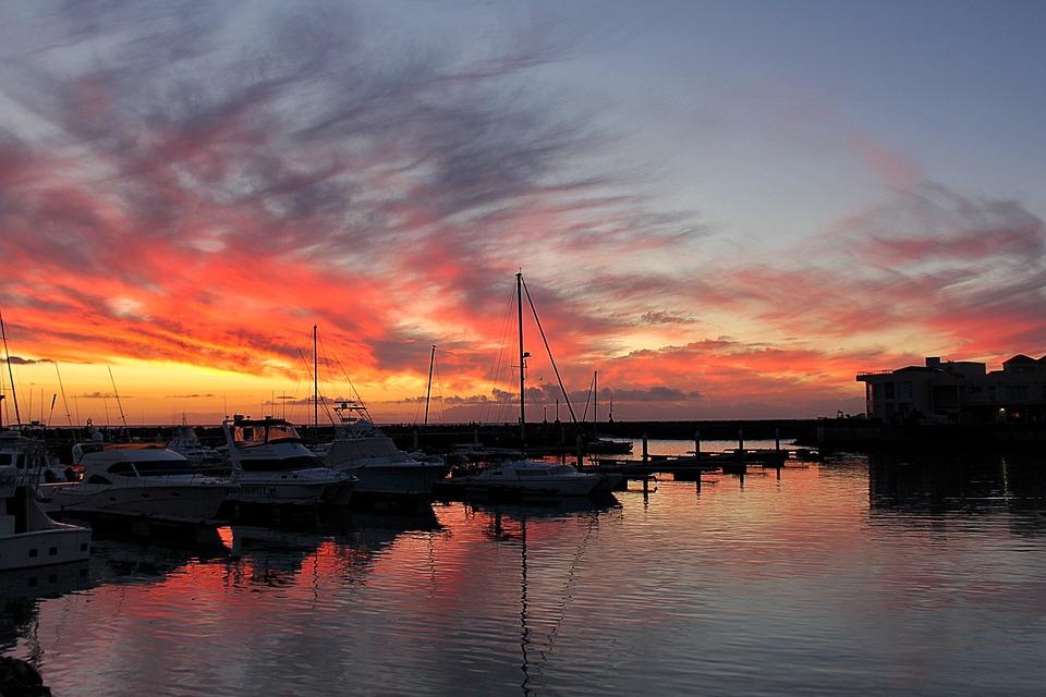 Water, Sunset, Reflection, Dusk, Dawn, Sky, Sea