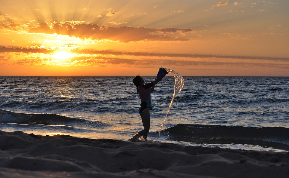 Sunset, Sky, Ocean, Sea, Evening, Dusk, Nature, Dawn