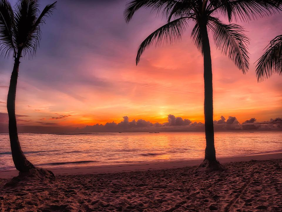 Dominican Republic, Sunrise, Dawn, Morning, Colors
