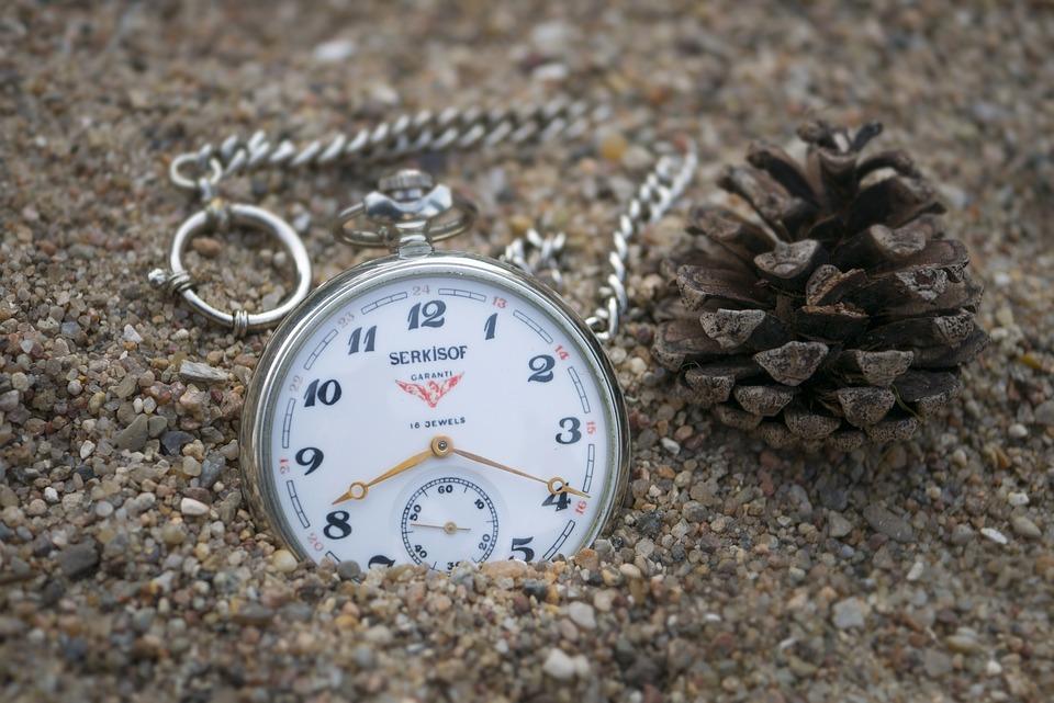 Clock, Dawn, Sand