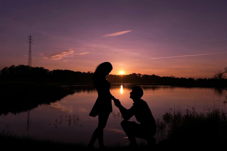 Lake, Sunset, Water, Dawn, Silhouette