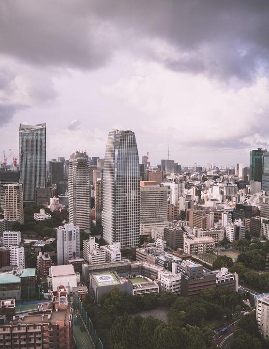 Tokyo, Tokyo City, Day, Japan, Cityscape, City