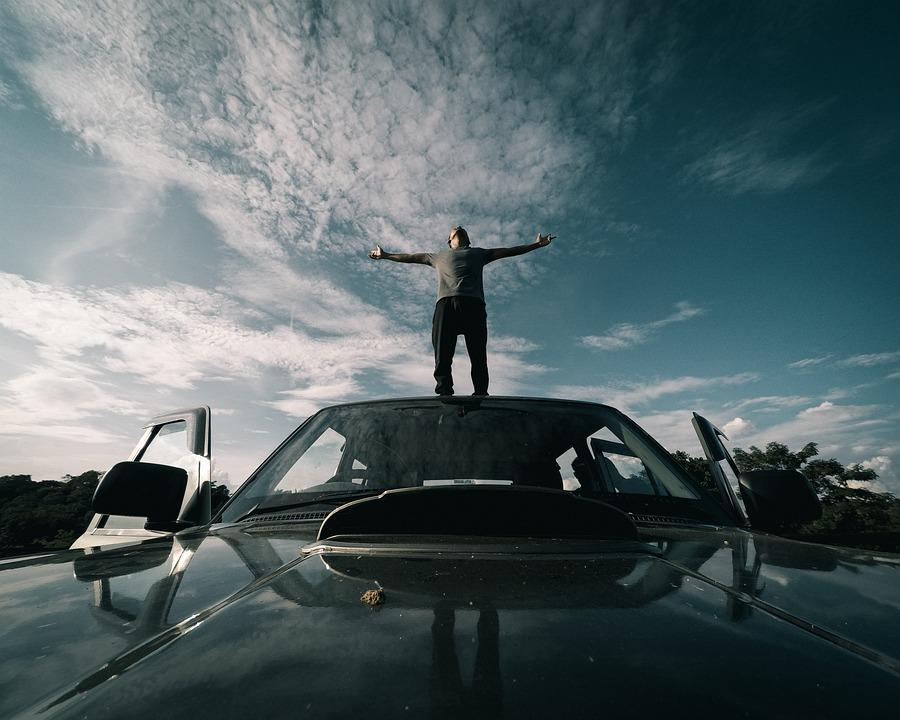 Day, Car, Sky, Clouds, Boy, Life, Clear, Sunset, Tour