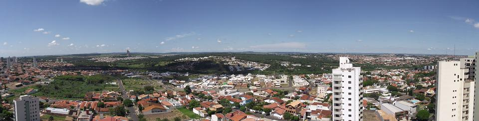 City, Bauru, Brazil, Vista, Landscape, Day