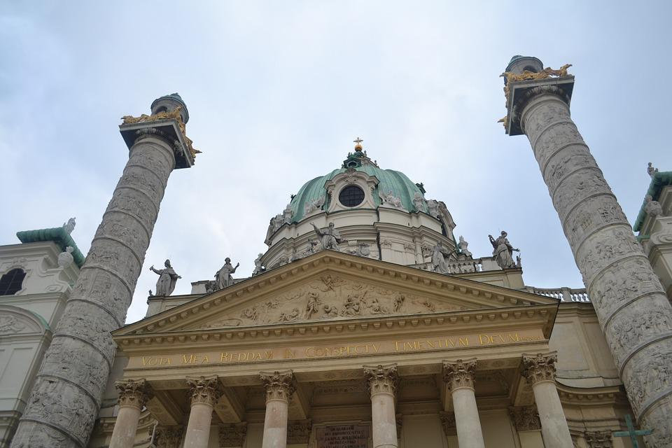 Karlsplatz, Cathedral, Church, Architecture, Daylight