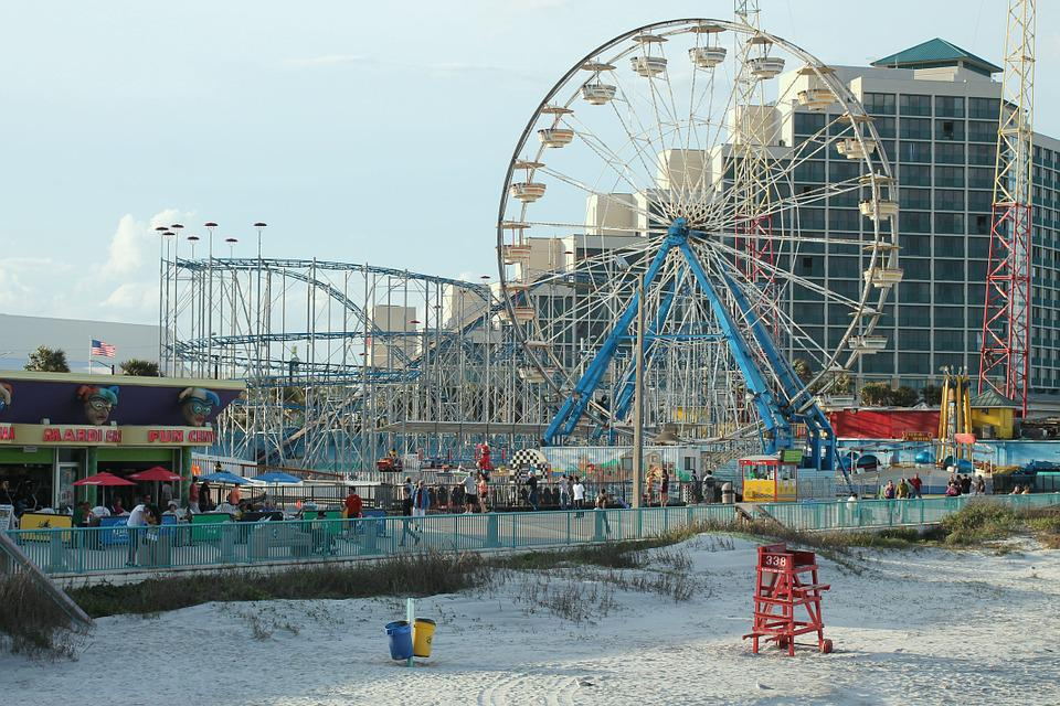 Daytona Beach Florida Ocean Boardwalk