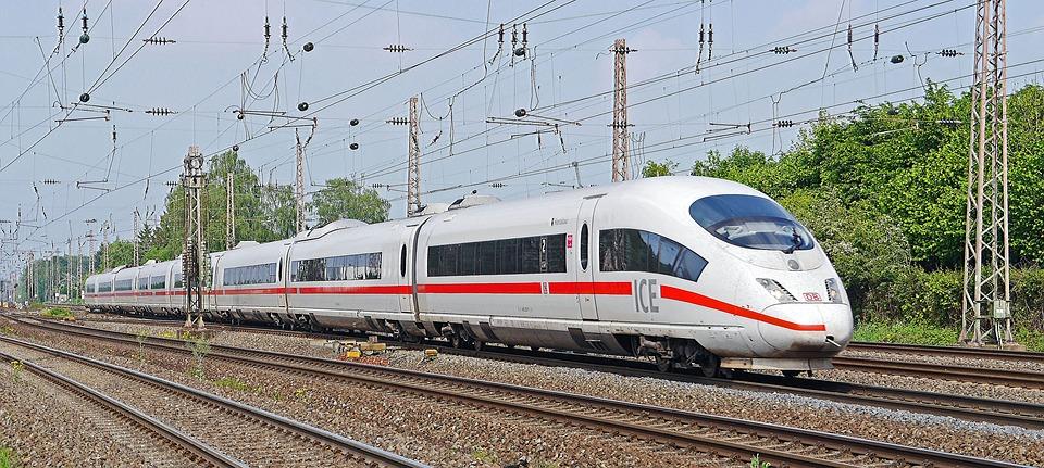 Ice, Db, Hamm, Dortmund, Remote Traffic, Main Line