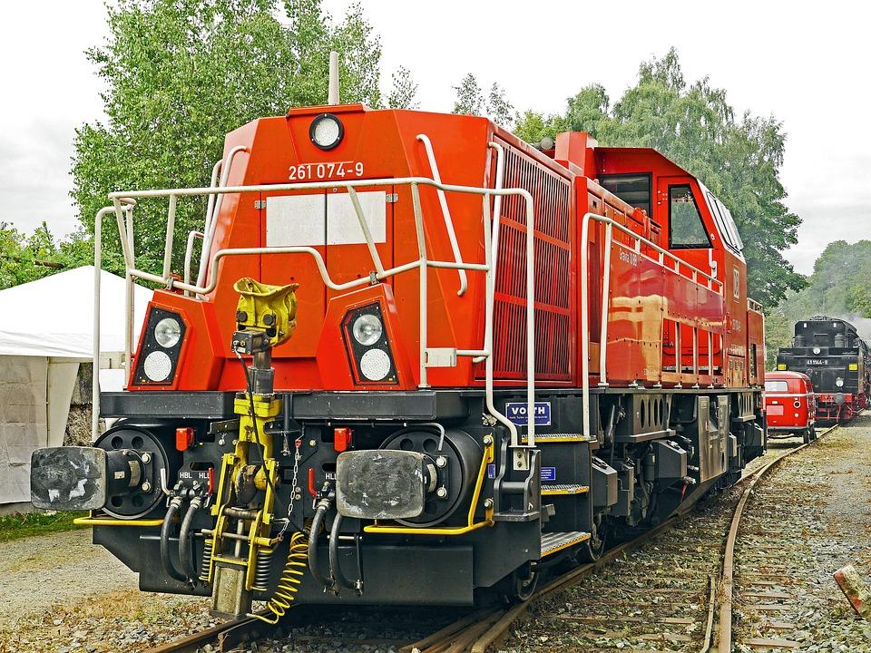 Diesel Locomotive, Switcher, Modern, Deutsche Bahn, Db