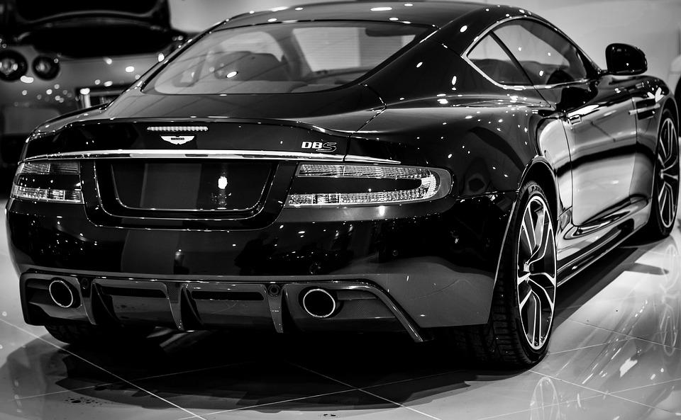 Aston Martin Dbs, Aston Martin, Dbs, Black Aston Martin