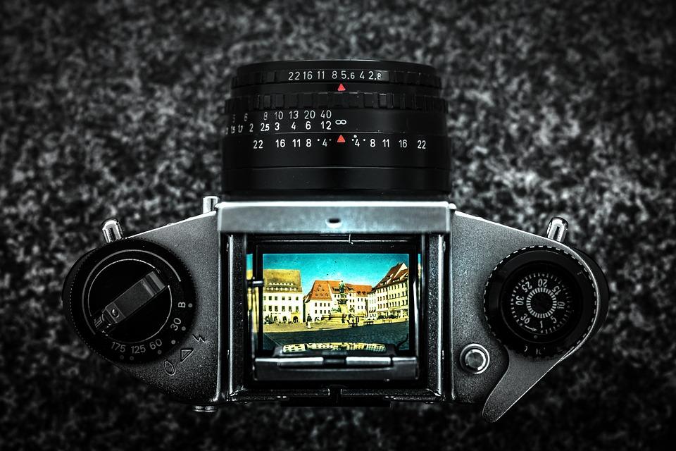 Photography, Slr Camera, Ddr, Old, Analog, Historically