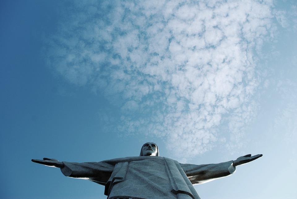 Rio, Christ, Cristo, Corcovado, Brazil, Janeiro, De