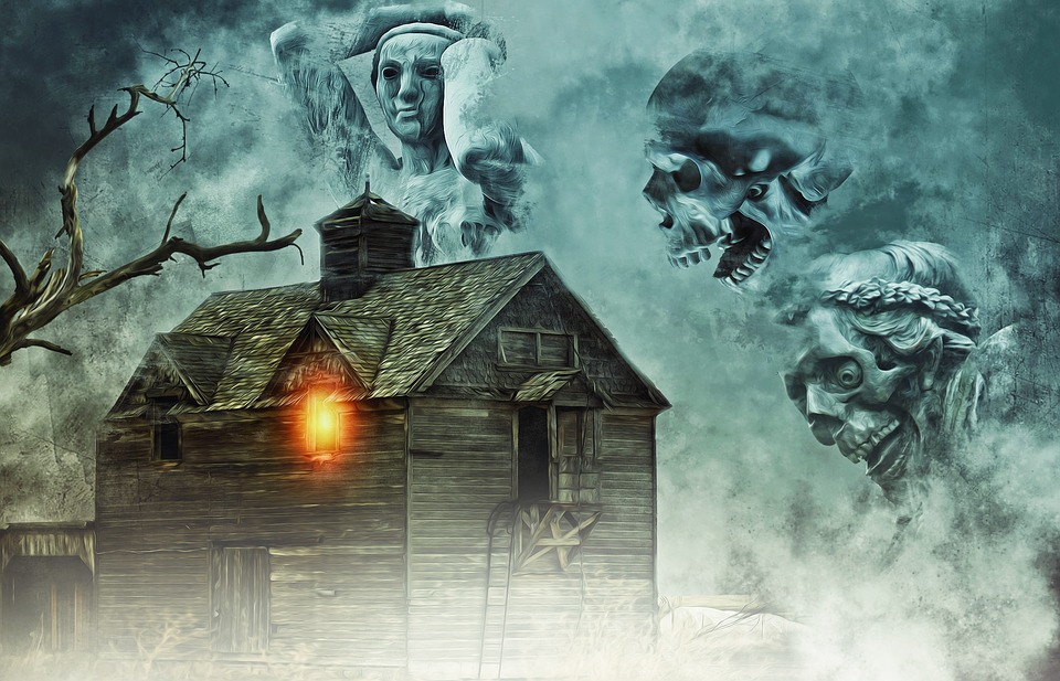 haunted house house haunted halloween dead death