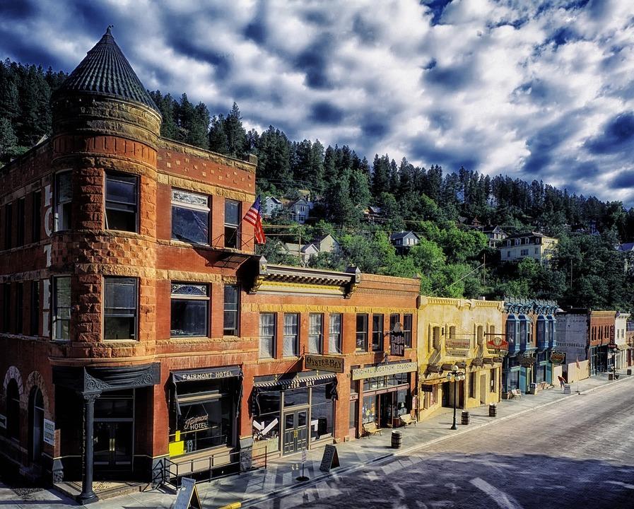Deadwood, South Dakota, Town, Buildings, Historic