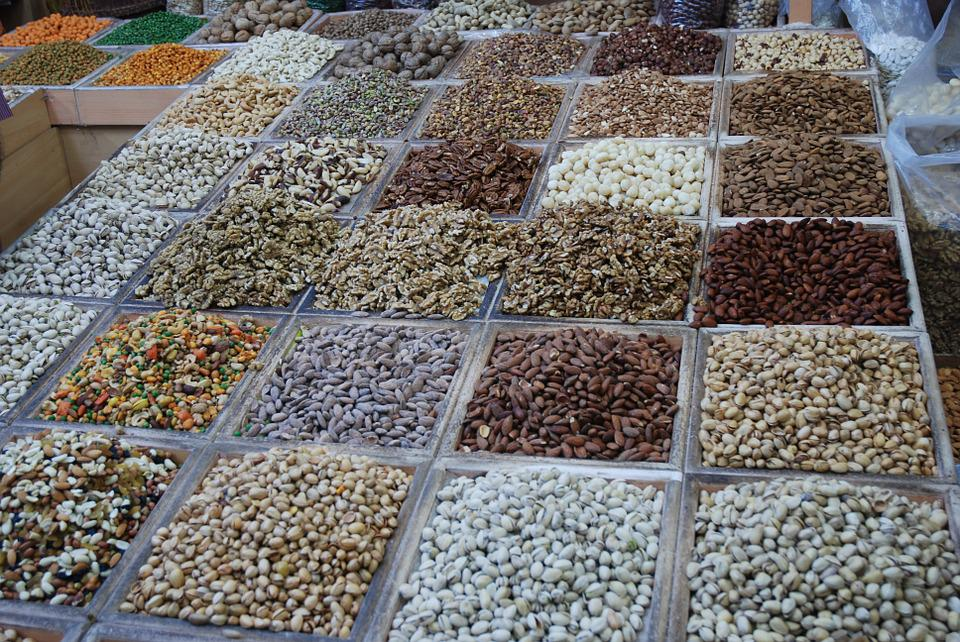 Spices, Market, Eat, Beans, Market Stall, Dealer