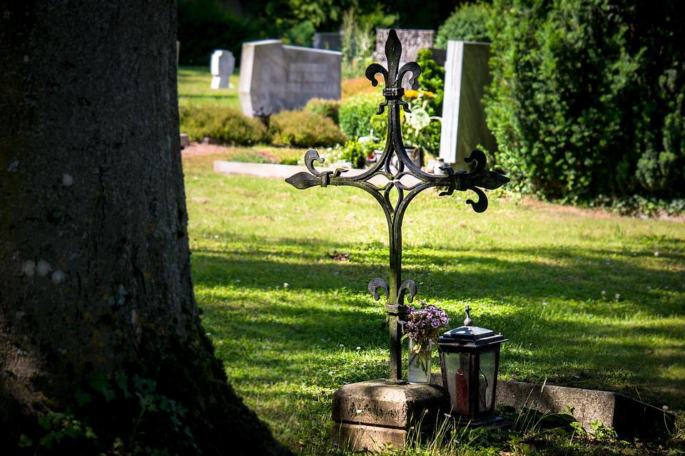 Cemetery, Cross, Grave, Tombstone, Old Cemetery, Death