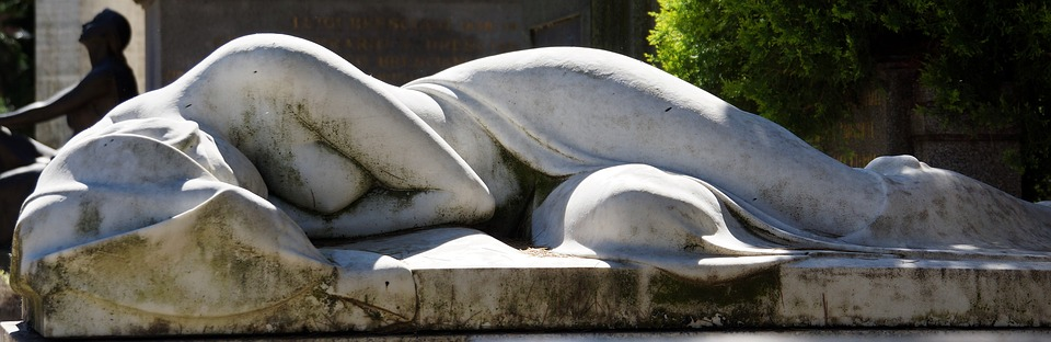 Grave, Stone, Statue, Graveyard, Cemetery, Death